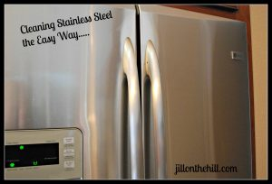 Cleaning Stainless Steel the Easy Way…