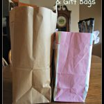 Storing bags and gift bags