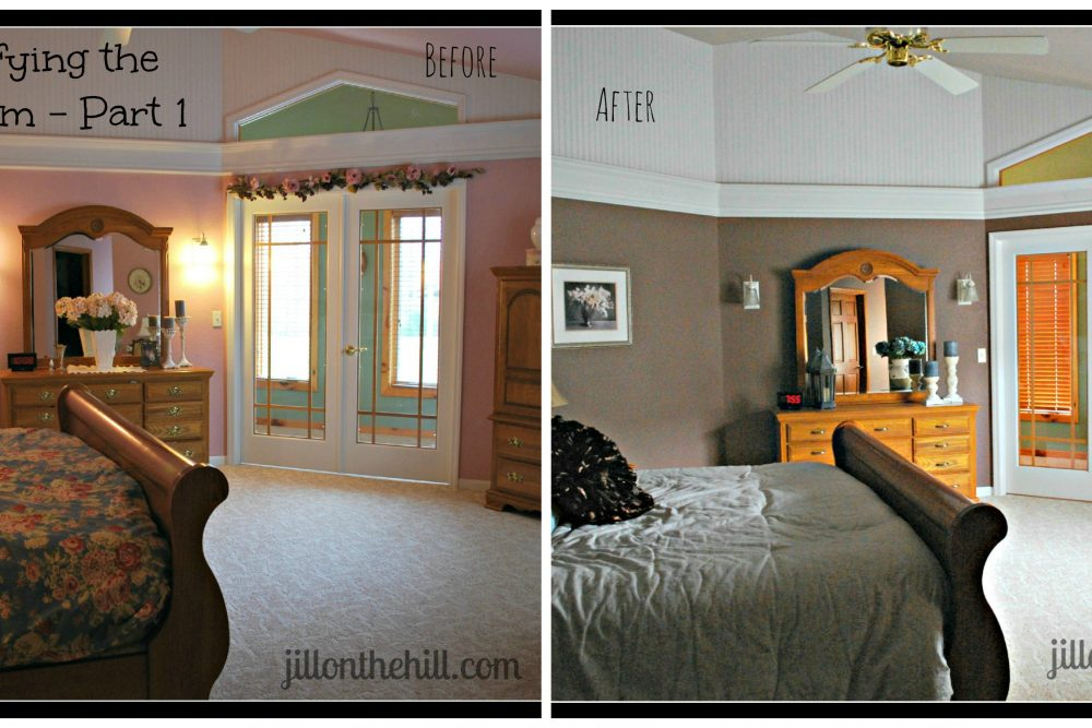 Simplifying the Bedroom Part 1