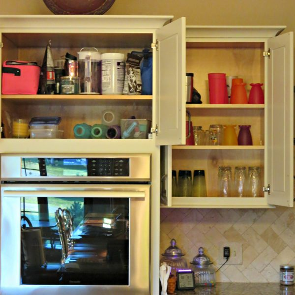 91 Day Declutter Challenge-Day 3 Kitchen Cupboards