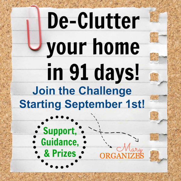 91 Day Declutter Challenge!!