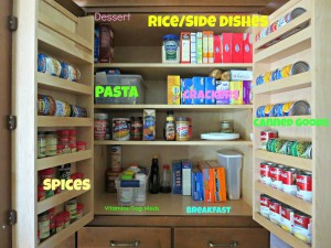 91 Day Declutter Challenge- Day 2 Declutter Pantry