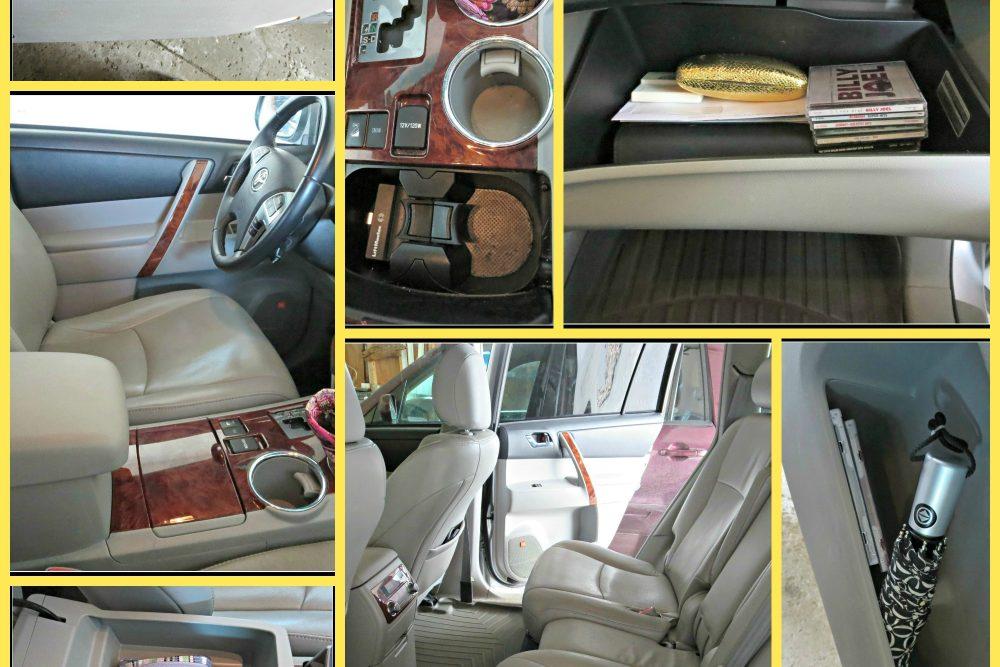 A Clean & Organized Car
