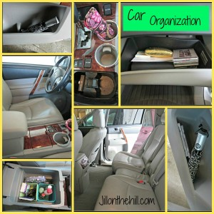 A Clean & Organized Car