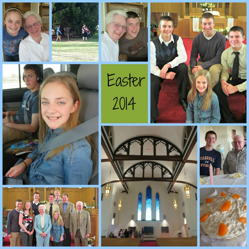 Easter 2014 Collage
