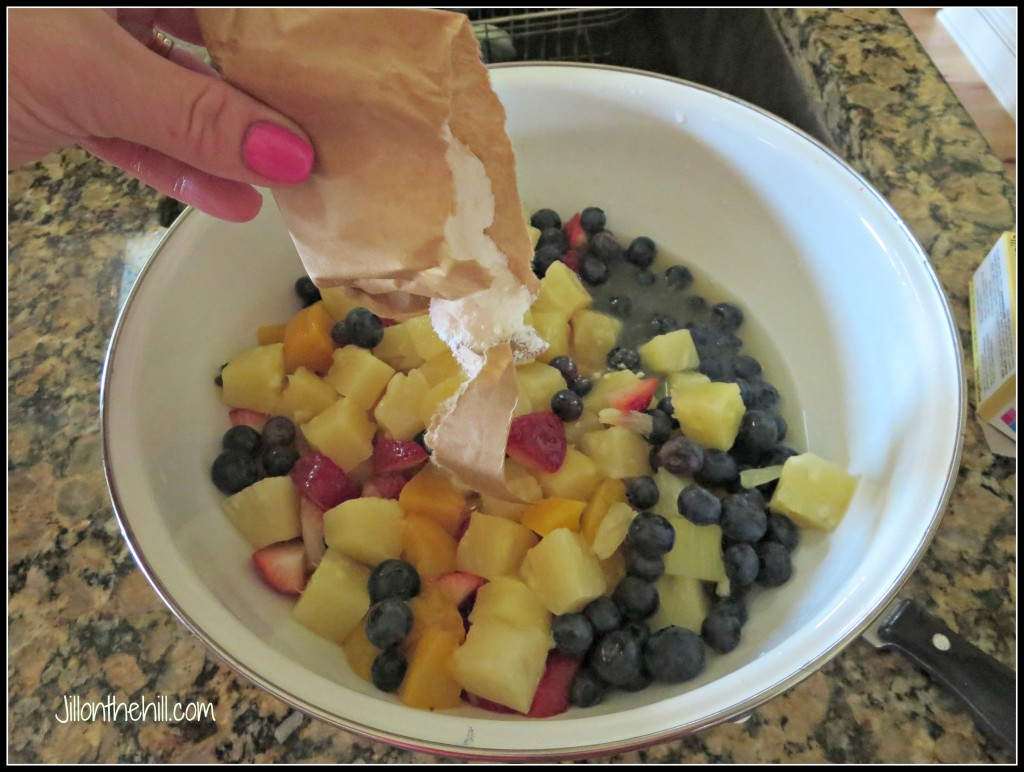 Fruitpudding