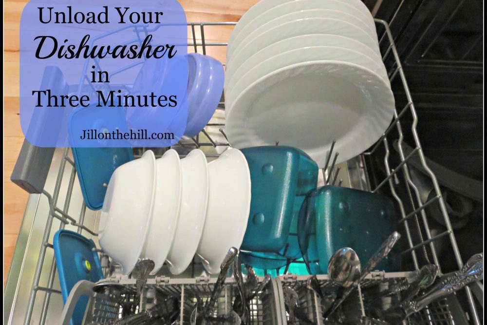 Unload Your Dishwasher in Three Minutes
