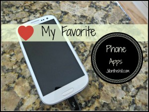 My Favorite Phone Apps!!