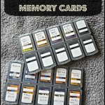 How I Organize my Memory Cards