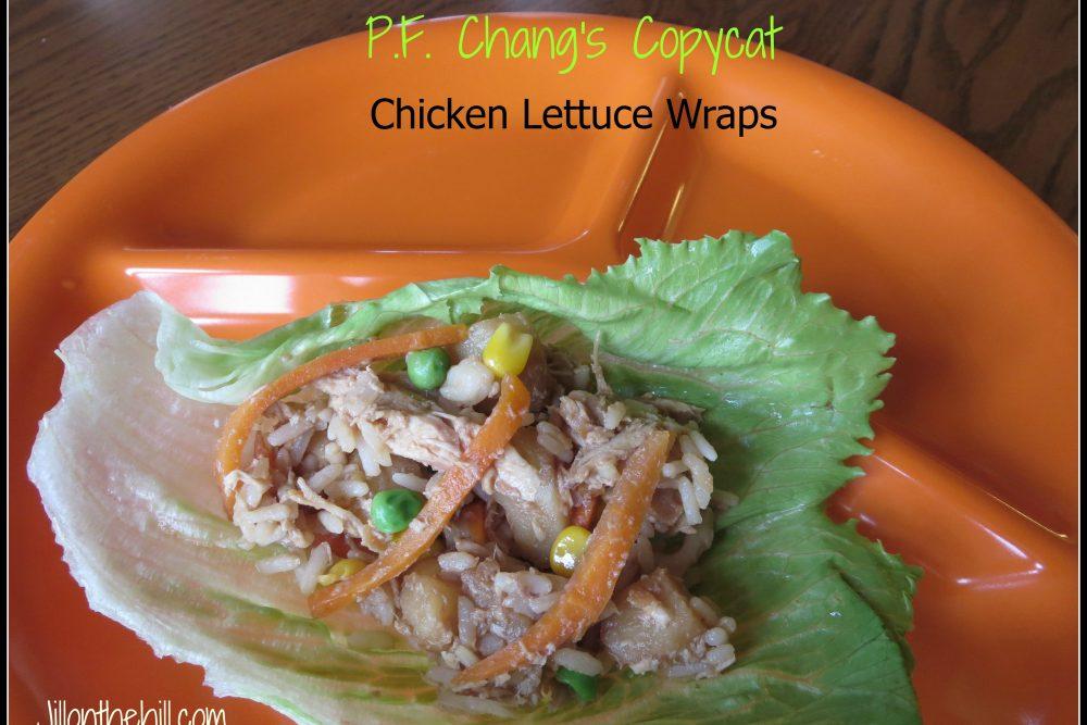 P.F. Chang's Copycat Lettuce Wraps