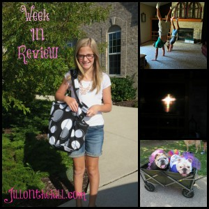 Week in Review- August 22, 2014