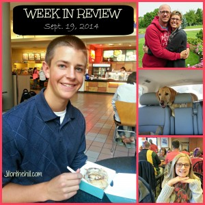 Week in Review- September 19, 2014
