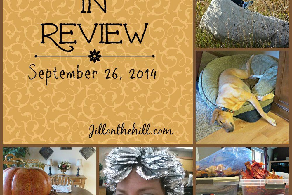 Week in Review-September 26, 2014