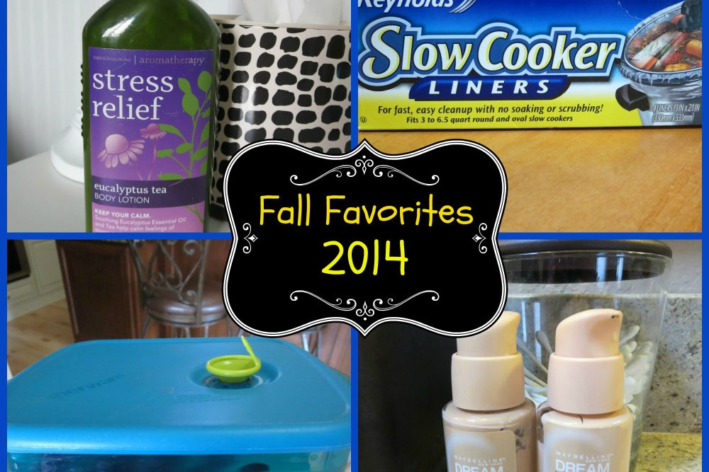 Fall Favorites 2014