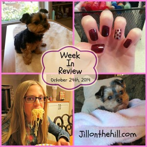 Week in Review- October 24th, 2014