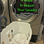 4 Ways to Reduce Your Laundry
