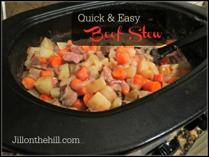 Quick & Easy Beef Stew