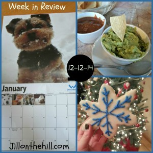 Week in Review- My Fabulous Five- 12-12-14