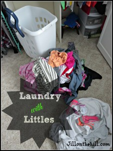 Laundry with Littles (Under age 10)