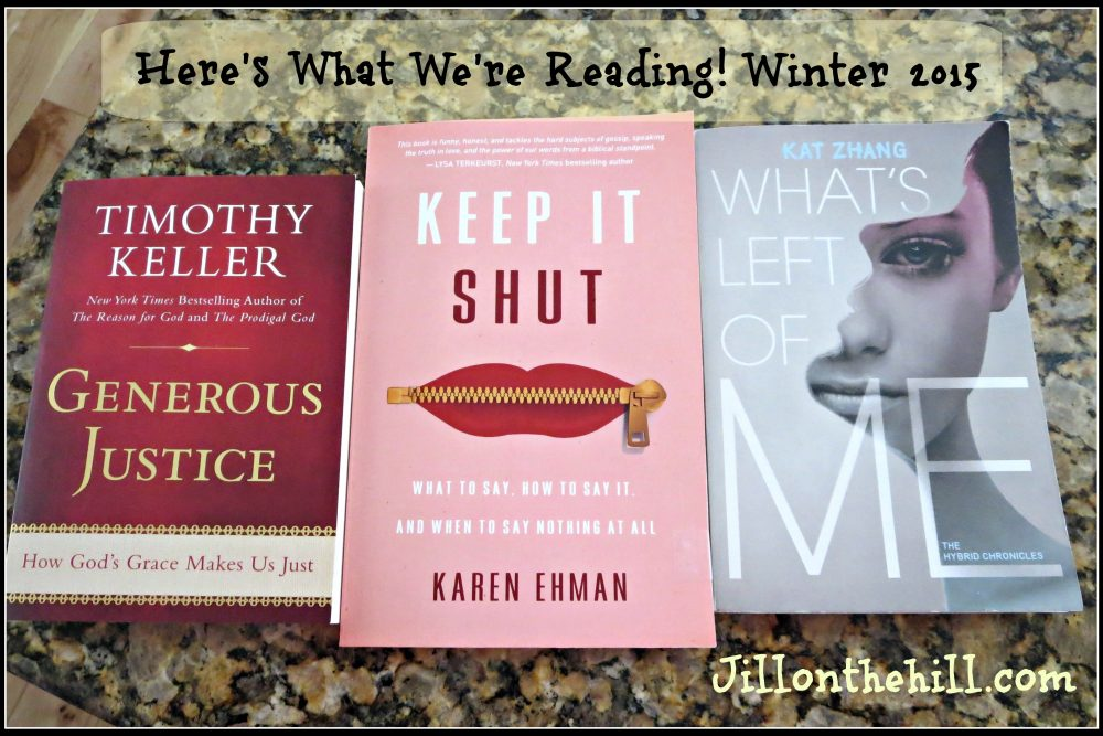 Here's What We're Reading! Winter 2015
