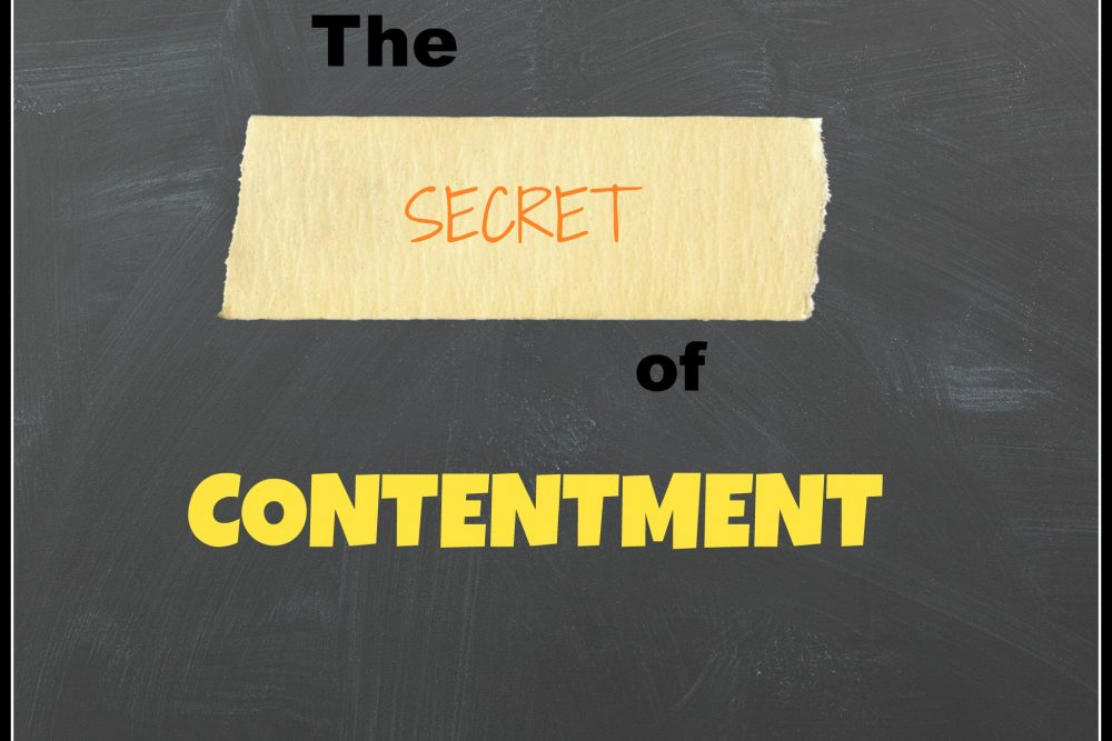 The Secret of Contentment