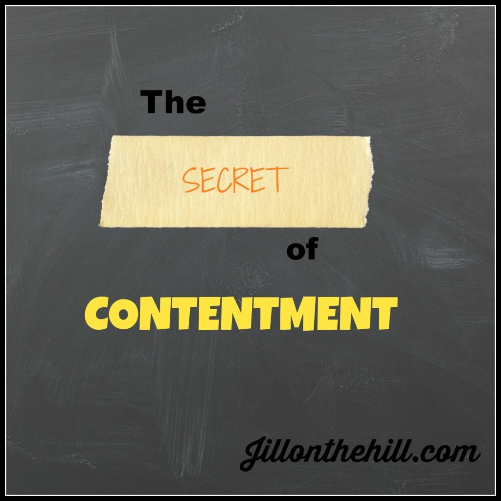Contentment- Jillonthehill.com