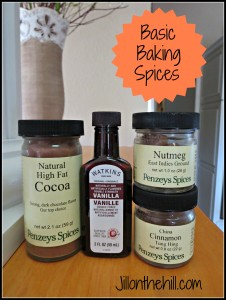 Ask Ms. Jilly– Basic Baking Spices