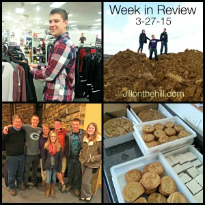5 on Friday- My Week in Review- 3-27-2015