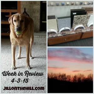 Week in Review- April 3rd, 2015