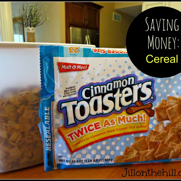 Saving Money: Cereal