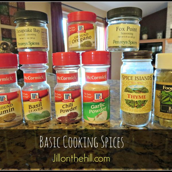 Ask Ms. Jilly- Basic Cooking Spices