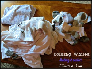 Folding Whites: Making it Easier!