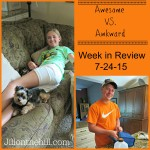 Week in Review- July 24th, 2015