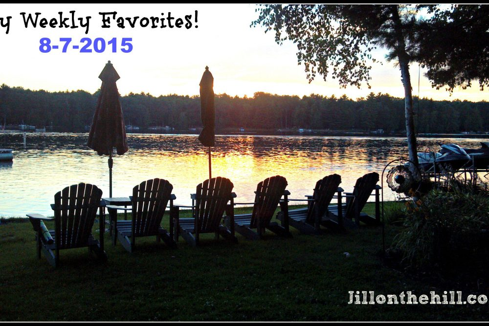Week in Review- My Weekly Favorites! 8-7-15