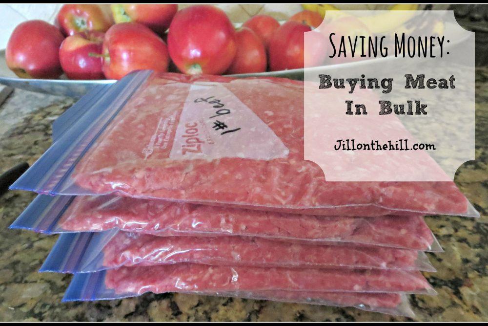 Saving Money: Buying Meat in Bulk