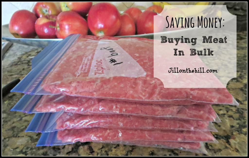 Buying Meat in Bulk- Jillonthehill.com