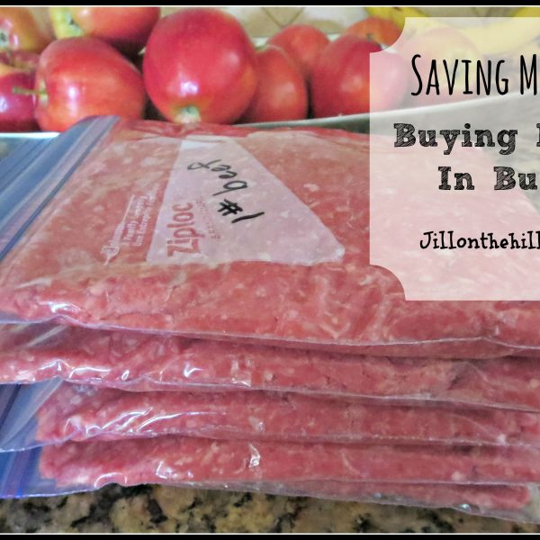 Saving Money: Buying Meat in Bulk