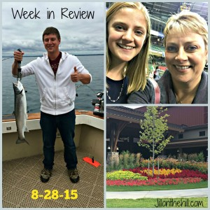 Week in Review- August 28th, 2015