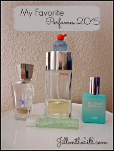 My Favorite Perfumes- 2015
