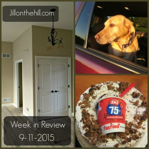 Week in Review- 9-11-2015