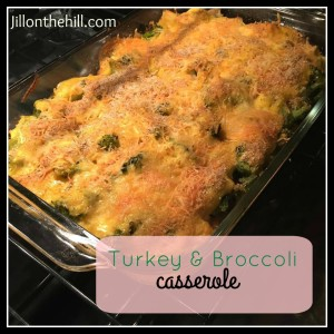Turkey Broccoli Casserole