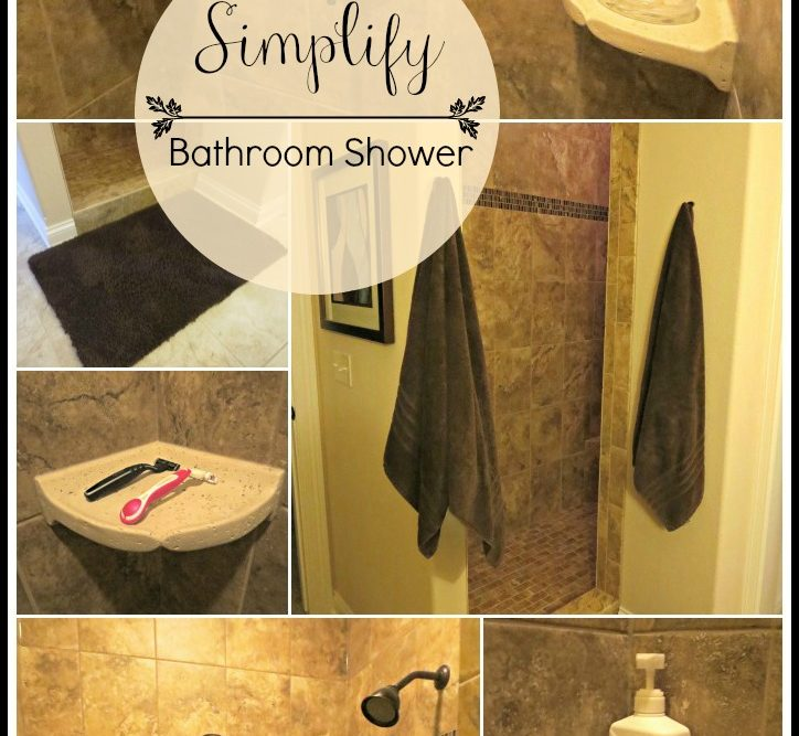 Simplify: The Bathroom Shower