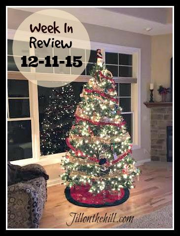 Week in Review- December 11, 2015