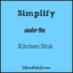Simplify: Under the Kitchen Sink
