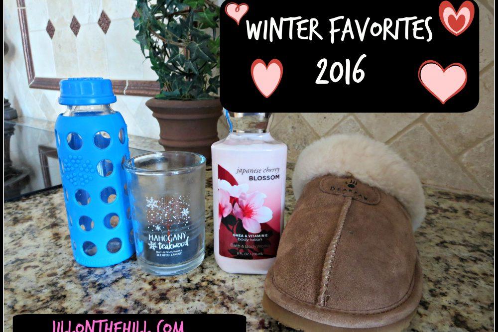 Winter Favorites 2016
