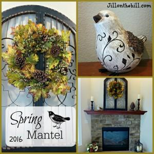 Spring Mantel 2016