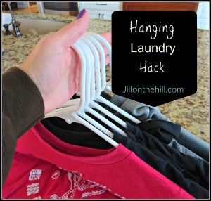 Simplify: Hanging Laundry Hack