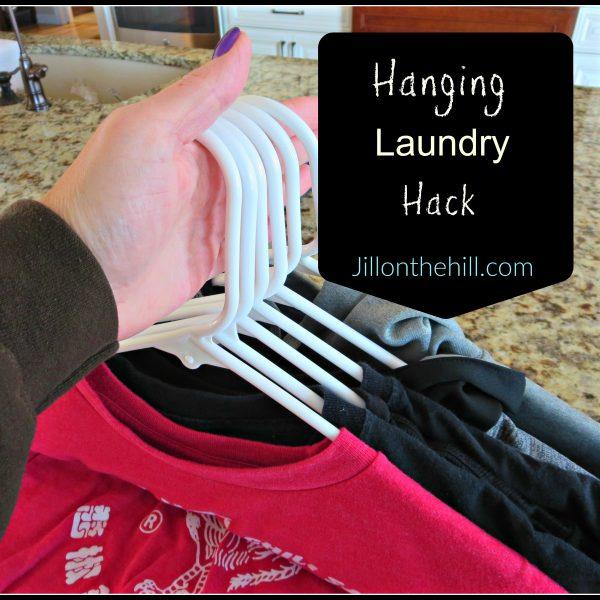 Simplify: Hanging Laundry Hack