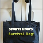 My Sports Mom's Survival Bag!
