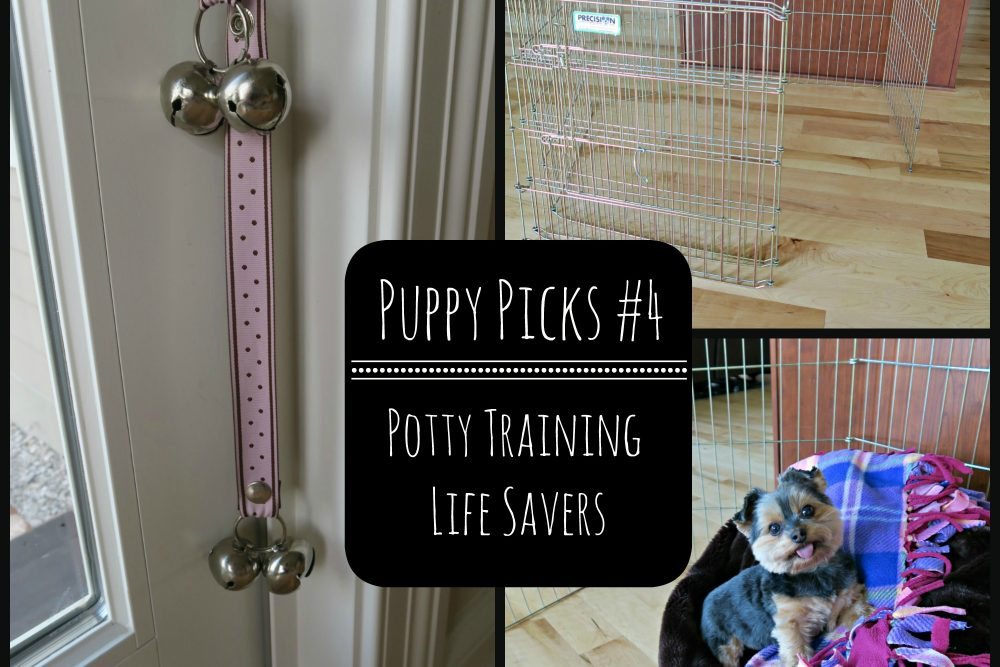 Puppy Picks #4- Potty Training Life Savers